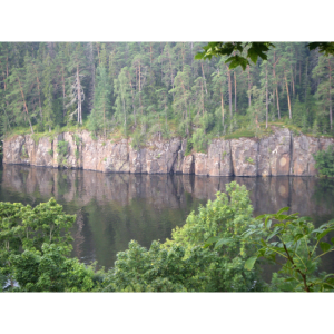 Ladoga Landschaft