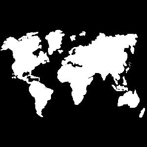 Weltkarte Reise Kontinente