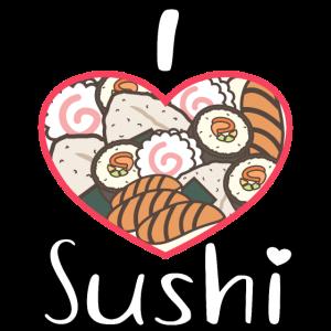 Ich liebe Sushi Maki Reisbällchen Nigiri