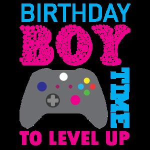 Geburtstagsjunge Videospiel Geburtstagsparty
