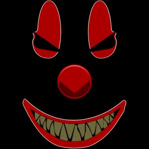 Der gruselige Clown