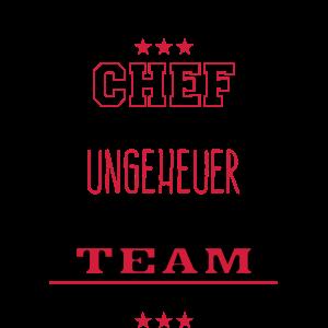 Bester Chef fantastisches Team - Tasse