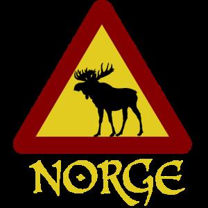 Norge, Norwegen, Elch Elk