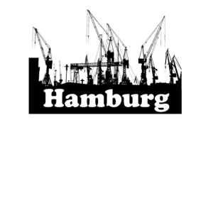 Hamburg Hafen Skyline