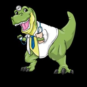 T-Rex Arzt Kostüm Karneval Doktor Dinosaurier