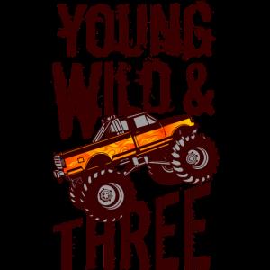 3. Geburtstag Monster Truck