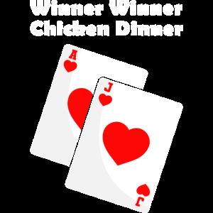 Winner Winner Chicken Dinner Blackjack 21 spielen