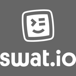 Swatio Logo L Hochformat Empty Filling tilted