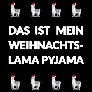 Lama Pyjama Geschenk Damen Herren Kinder christmas