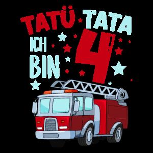 Feuerwehr 4 Jahre Geburtstag