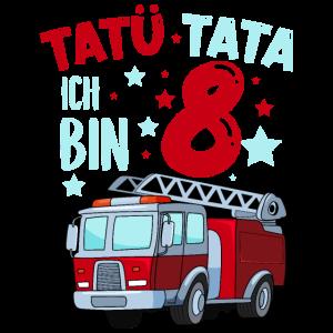 Feuerwehr 8 Jahre Geburtstag