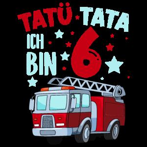 Feuerwehr 6 Jahre Geburtstag