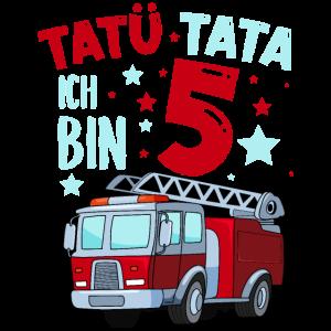 Feuerwehr 5 Jahre Geburtstag