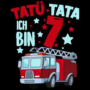 Feuerwehr 7 Jahre Geburtstag