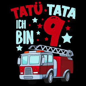 Feuerwehr 9 Jahre Geburtstag