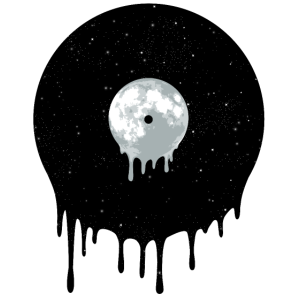 Weltraum-Vinyl