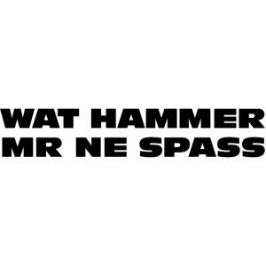 Wat hammer mer ne Spass