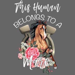 This Human Belongs To A Mare