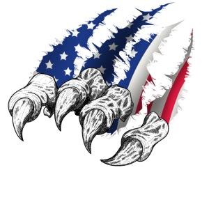 American Flag Claw