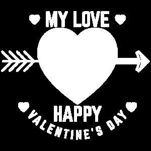 MY LOVE Valentinstag Geschenk Für Freundin