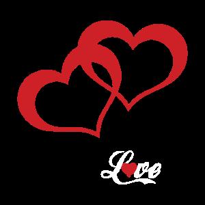 LOVE MIT HERZEN Valentinstag Geschenk Für Freundin