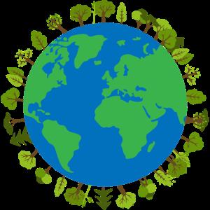 Erde Baeume Klimaschutz