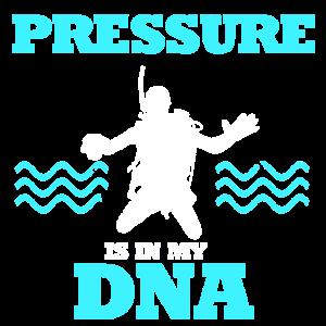 Tauchen Druck DNA Schnorcheln Spruch