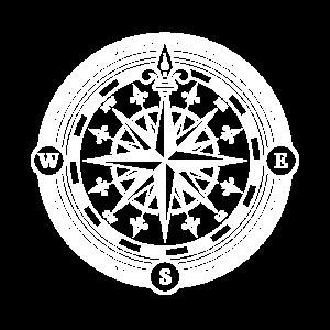 Segeln Kompass