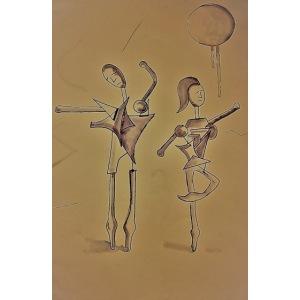 Ballo - sepia