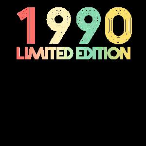 30. Geburtstag Geschenk 1990 Limited Edition