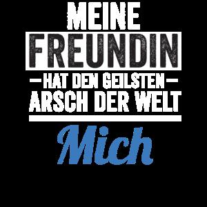 Freundin Arsch Mich Lustig Spruch Spaß Witzig