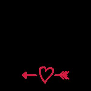 Valentinstag Partnershirt Meine bessere Hälfte