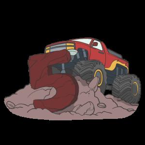 Monster Truck Kindergeburtstag 5. Geburtstag