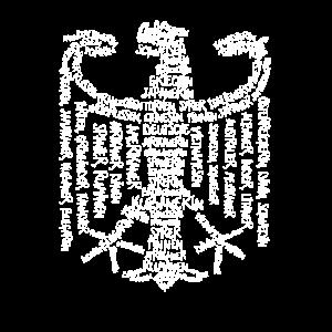 Bundeswappen Deutschland Wappen Adler Geschenk