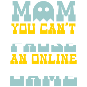 Mom You Can't Pause An Online Game