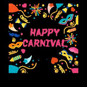Happy Carneval Karneval Party