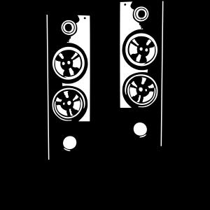 Turn it up - musik sound system - Lautsprecher