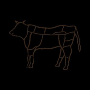 Rinderteile - Kuh - Grillen