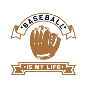 Baseball Spruch Leben