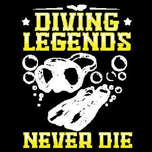 Tauchlegenden sterben nie Tauchen Tauchschein