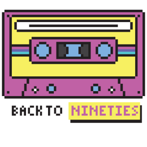 Back to Nineties - Retro Kassette 90er Motto Party