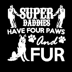 Super Daddies haben vier Pfoten und Fell