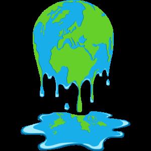 Schmelzende Erde