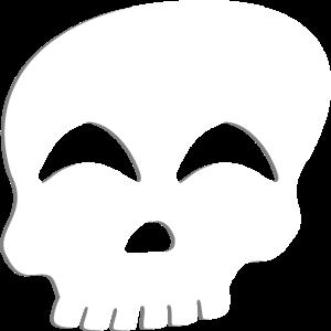 Schädel lustig Geschenkidee Tag der Toten