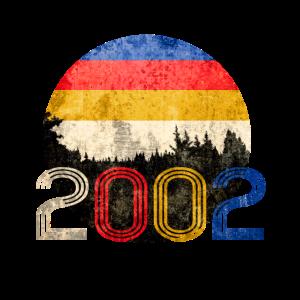 18. Geburtstag | 2002 | Vintage Birthday Shirts
