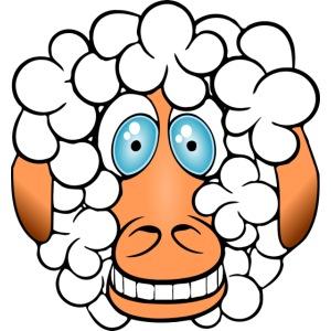 bad hair day crazy sheep