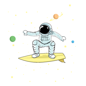 Surfender Astronaut