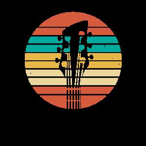 Retro E-Gitarre Geschenk Elektrogitarre Gitarrist