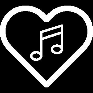 Herz Musik Musiknote Musiker Musikinstrument Noten