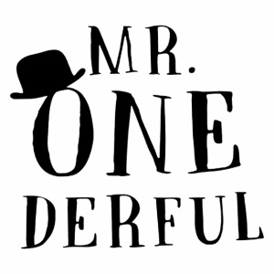 Black Design Mr Onederful